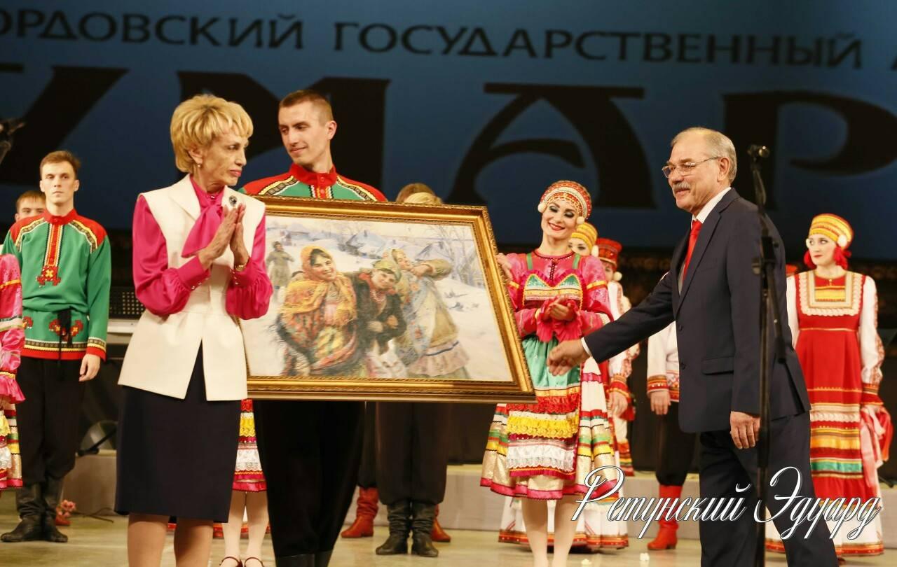 Мордовский государственный ансамбль песни и танца